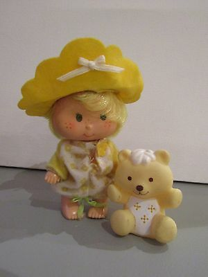 Vintage 1981 Palitoy Strawberry Shortcake Butter Cookie With Jellybear Doll