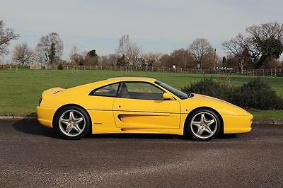1998 Ferrari 355 Berlinetta/ GTB Manual Petrol yellow Manual
