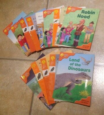 Oxford Reading Tree Stage 6 Books X 14. Learn To Read. Free Postage