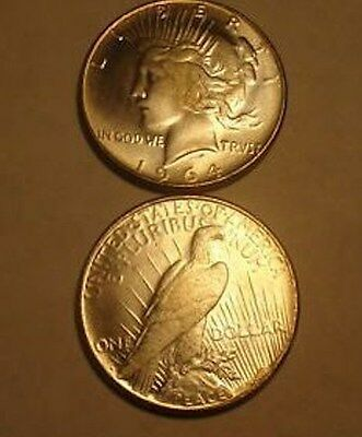 1964 D Peace Dollar - Fantasy  Coin Never Released By The Mint