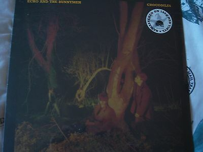 Echo And The Bunnymen Crocodiles 180G Red Vinyl Lp 20.00