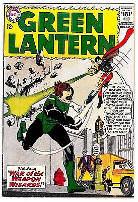 GREEN LANTERN #25 (VG) Sonar Cover Story Appearance! 1963 DC Hector Hammond App