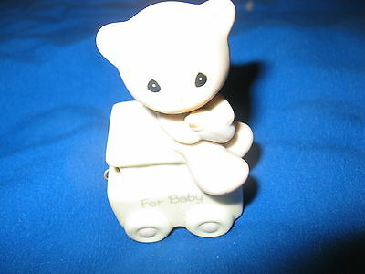"Precious Moments For Baby ""May Your Birthday Be Warm"" #15938 Enesco 1985"