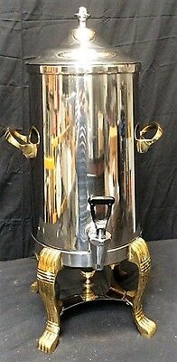 Bon Chef Silver Plate Insulated Coffee Urn 6 QT