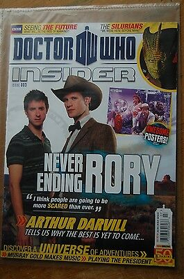 Doctor Who Insider Magazine. Issue 3.