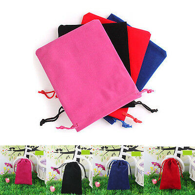 1Pcs Velvet Drawstring Jewelry Gifts Bags Wedding Pouches Premium Bag S M L Size