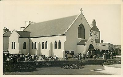 s10145 St Patrick's Catholic Church, St Clement, Jersey RP postcard unposted