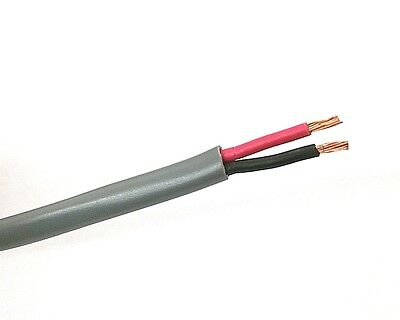 25' NEW 2 Conductor 16 Gauge (19/29) Unshielded Speaker Cable ~ 2C 16AWG CMR