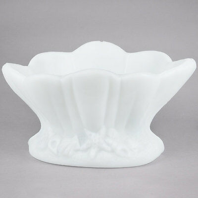 Carlisle SCL102 White Plastic Clam Shell Shaped Ice Sculpture Mold 271SCL1