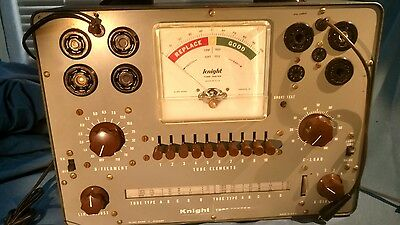 Knigjt 600A tube tester, bench model, metal case