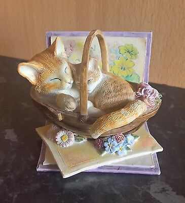 Country Artists Kitten Tales 'to Mum With Love' Cat Ornament Figurine