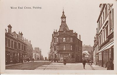 Paisley - West End Cross - Renfrewshire -  Postcard