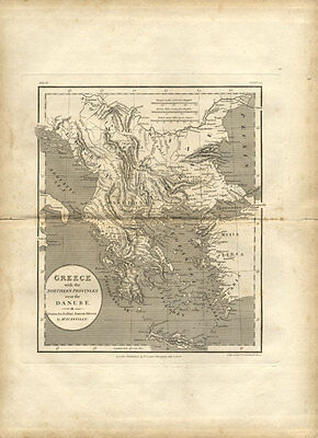 Book of 1809 Cartographic Engravings after D'Anville