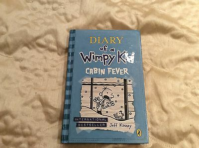 Diary Of A Wimpy Kid Book Hardback...cabin Fever