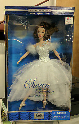 Barbie Classic Ballet Series Swan Ballerina from Swan Lake Collector Edition