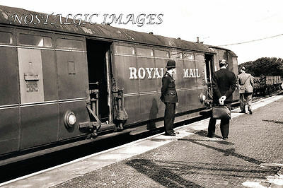 Photo Of Police Inspecting The Mail Coach At The Scene Of Great Train Robbery
