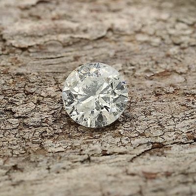 Loose Diamond Certified Round 0.70 CT D Color SI2 Clarity for Ring Enhanced