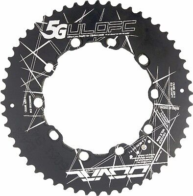 """It`s the Pedaling , stupid!"" 5G doval 52T(2.4%)/39T(3.5%) BCD130 5Arm chainring"