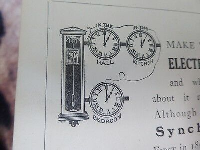 1920s MAKE A ELECTRIC PENDULUM DRIVEN MASTER CLOCK SECONDS PENDULUM F JONES