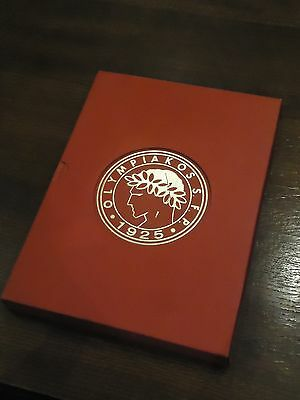 Vintage Olympiakos Book Archives & History Documents Football Sports Greece