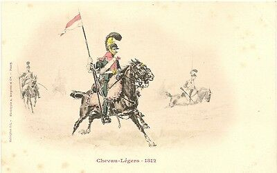 French Military Chevau-Legers   1812  Horse Flag PC