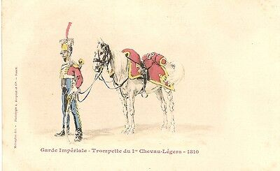 French Military  Garde Imperiale Trompette 1810 PC