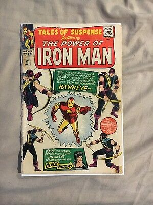 Tales Of Suspense #57 First App Hawkeye Silver Age Classic! Fn++