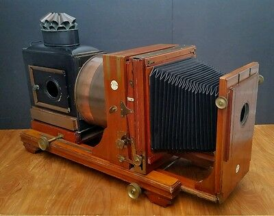 Thornton Pickard Royal Ruby 1900s Magic Lantern Projector Enlarger Antique 1910