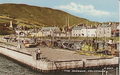 Helmsdale  - The Harbour - Sutherland   -Real Photo Early Postcard