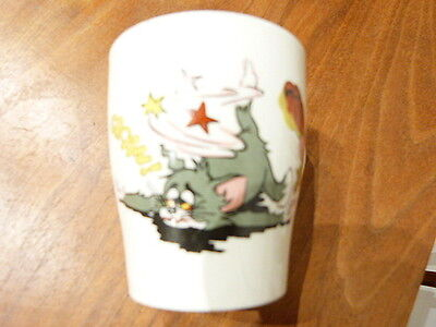 Tom and Jerry Cup Mug Staffordshire Potteries for MGM 1970