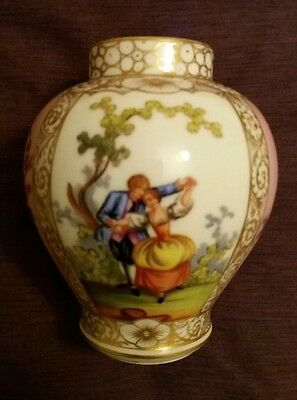 Antique Dresden Vase