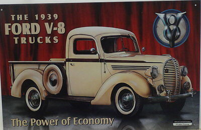 """""""The 1939 FORD V8 Truck"""" Sign"""