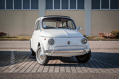 "1971 Fiat 500 Stunning ""Bianco"" 233 with Ocra/Black interior TOTALLY RESTORED FIAT 500 L 1971 ""Lusso"" Excellent and ready to drive anywhere!"