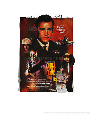You Only Live Twice - Official Limited Edition James Bond Lithograph