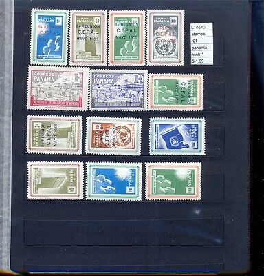 Stamps Lot Panama Mnh**  (L14640)