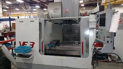 HAAS VF-3 CNC Vertical Machining Center Mill CT40 4020 4th Axis Ready 24 ATC '01