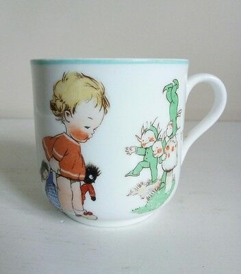 "Shelley Mabel Lucie Attwell ""Boo Boo"" Nursery Ware Cup"
