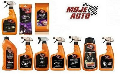 Moje Auto quick wax,shampoo,leather cleaner,dashboard wipes car cleaning kits