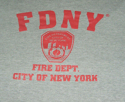 New York City NYC Fire Department T Shirt L FDNY