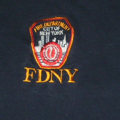 New York City NYC Fire Department T Shirt XL FDNY Embroidered