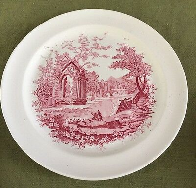 "Vintage Taylor, Smith & Taylor ""English Abbey"" 9-1/4"" Luncheon / Dinner PLATE"