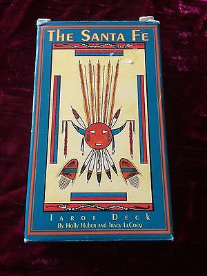 The Sante Fe Tarot Deck (by Holly Huber and Tracy LeCocq) - out of print, rare