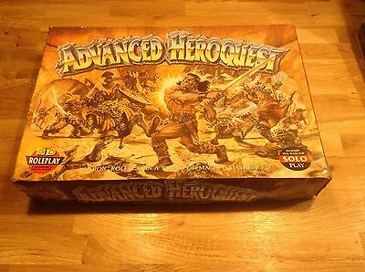 Advenced Heroquest Games Workshop Board Game Rare Incomplete