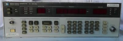 HP AGILENT 8656A Synthesized Signal Generator, 0.1 to 990 MHz