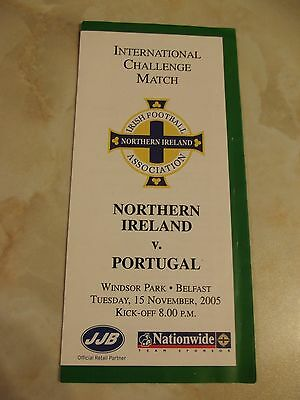 NORTHERN IRELAND v PORTUGAL 2005 INFORMATION LEAFLET