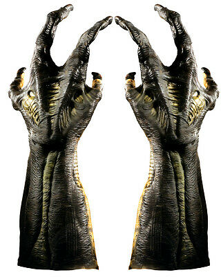 Alien Versus Predator AVP Predator Hunter Gloves Hands Costume Accessory