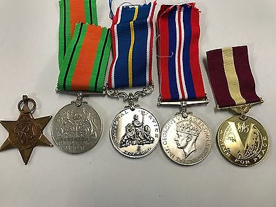 Genuine Group of  British WW2 Medals - The 1939-1945 Star