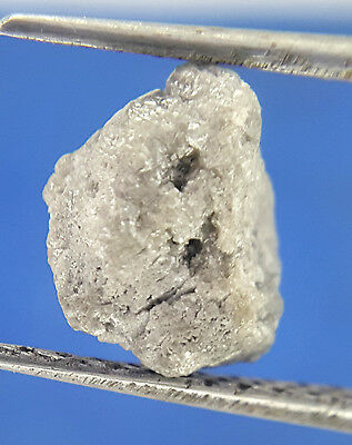 1.06 Ct Gray White Sparkling Color Natural shape Loose African Rough Diamond