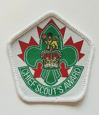 Scouts Canada Chief Scout Award highest award extinct rare