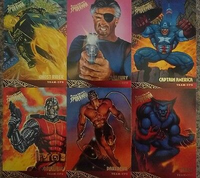 spiderman trading cards